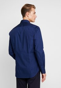 Tommy Hilfiger Tailored - DOT CLASSIC SLIM SHIRT - Kauluspaita - blue - 2