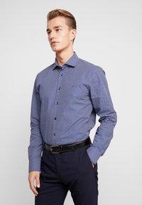 Tommy Hilfiger Tailored - MICRO PRINT CLASSIC SLIM FIT - Košile - blue - 0