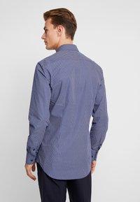 Tommy Hilfiger Tailored - MICRO PRINT CLASSIC SLIM FIT - Košile - blue - 2