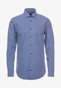 Tommy Hilfiger Tailored - MICRO PRINT CLASSIC SLIM FIT - Košile - blue - 4