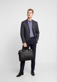 Tommy Hilfiger Tailored - MICRO PRINT CLASSIC SLIM FIT - Košile - blue - 1