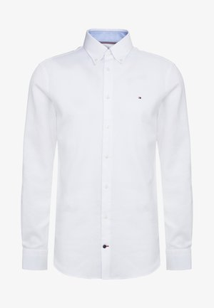 DOBBY SLIM FIT  - Formální košile - white