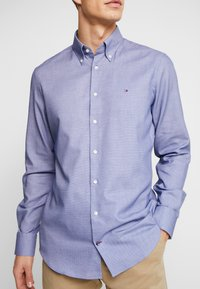 Tommy Hilfiger Tailored - DOBBY SLIM FIT  - Formální košile - blue - 4