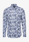 MACRO FLORAL CLASSIC SLIM FIT - Košile - blue