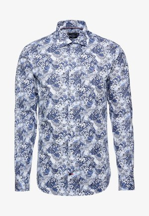 MACRO FLORAL CLASSIC SLIM FIT - Overhemd - blue