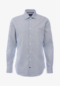 Tommy Hilfiger Tailored - MICRO PRINT CLASSIC SHIRT REGULAR FIT - Camicia elegante - blue - 4