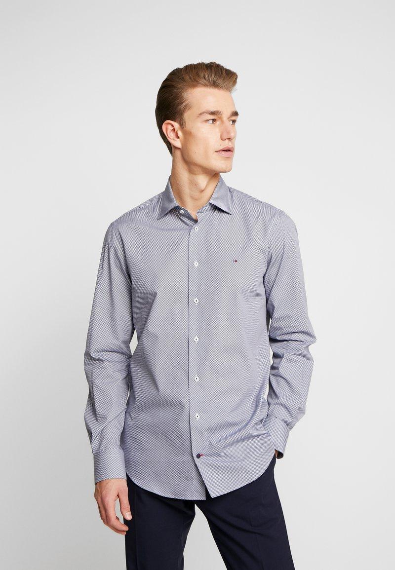 Tommy Hilfiger Tailored - MICRO PRINT CLASSIC SHIRT REGULAR FIT - Camicia elegante - blue