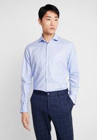 Tommy Hilfiger Tailored - DOBBY CLASSIC SLIM FIT  - Formální košile - blue - 0