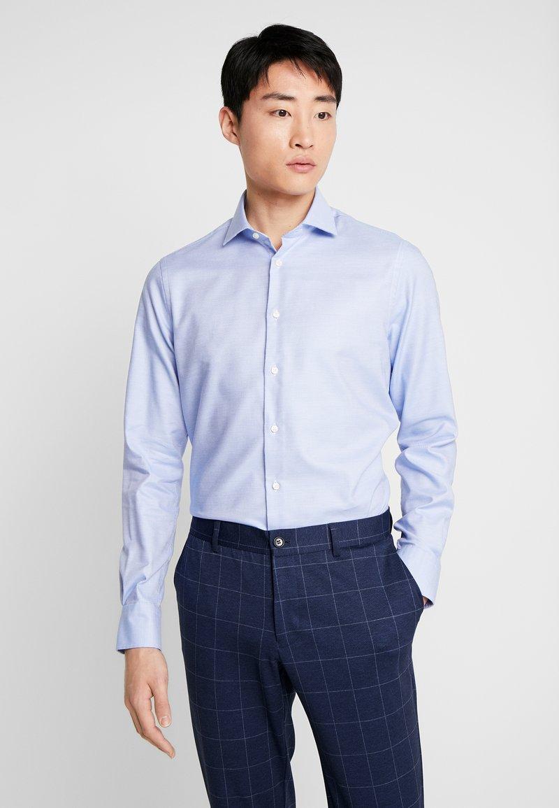 Tommy Hilfiger Tailored - DOBBY CLASSIC SLIM FIT  - Formální košile - blue