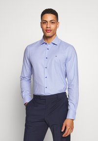 Tommy Hilfiger Tailored - HOUNDSTOOTH CLASSIC SLIM  - Formal shirt - blue - 0