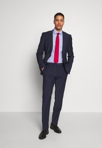Tommy Hilfiger Tailored - HOUNDSTOOTH CLASSIC SLIM  - Formal shirt - blue - 1