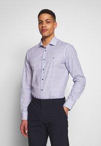 Tommy Hilfiger Tailored - FLORAL CLASSIC SLIM SHIRT - Camicia elegante - blue - 0
