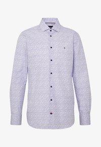 Tommy Hilfiger Tailored - FLORAL CLASSIC SLIM SHIRT - Camicia elegante - blue - 4