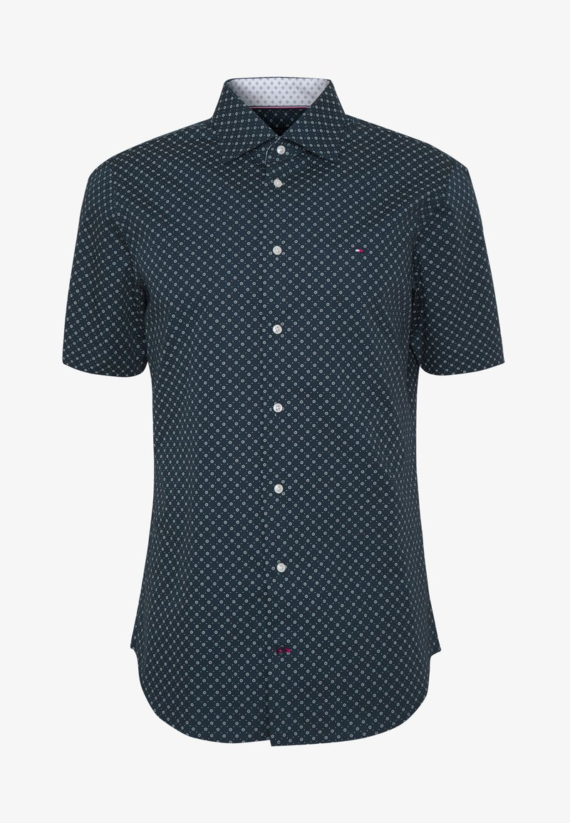 Tommy Hilfiger Tailored PRINT CLASSIC - Skjorte - blue