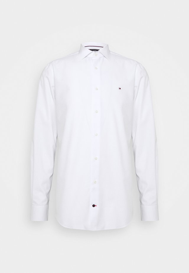 DOBBY DESIGN CLASSIC - Formal shirt - white