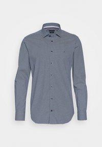 Tommy Hilfiger Tailored - MICRO PRINT CLASSIC SLIM - Camicia elegante - blue - 0