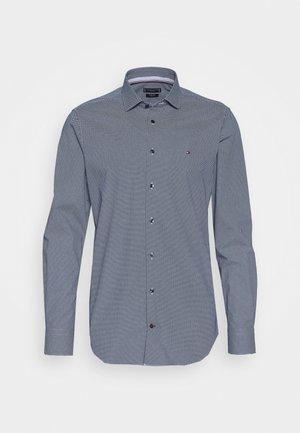 MICRO PRINT CLASSIC SLIM - Camicia elegante - blue