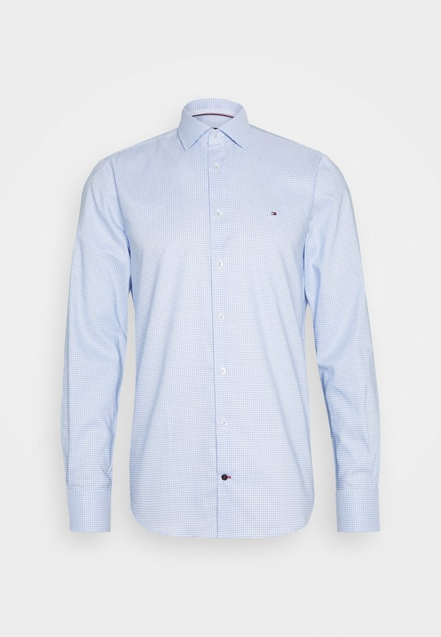 OXFORD CHECK CLASSIC SLIM SHIRT - Formal shirt - blue