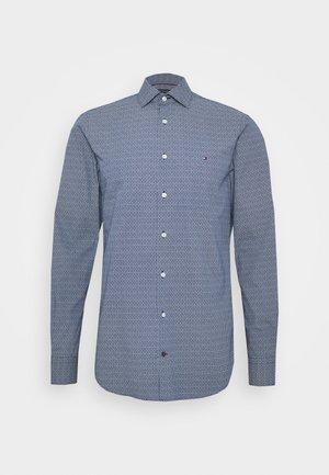 PRINT SLIM FIT - Camicia - blue