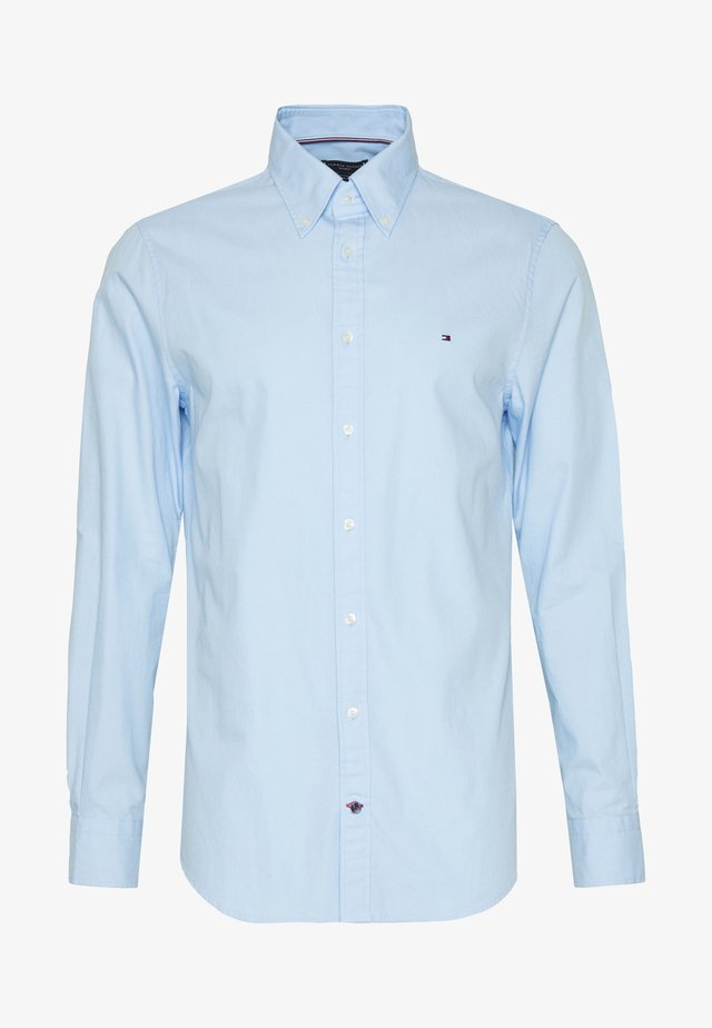 WASHED BUTTON DOWN SLIM  - Shirt - blue
