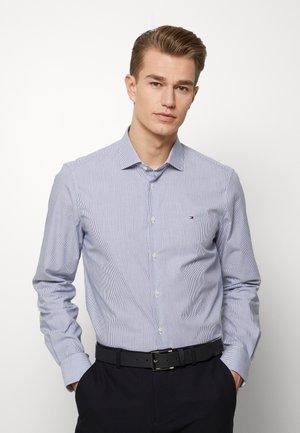STRIPE CLASSIC SLIM - Camicia elegante - blue