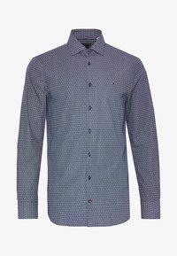 Tommy Hilfiger Tailored - DOT PRINT CLASSIC SLIM - Camicia elegante - blue - 3