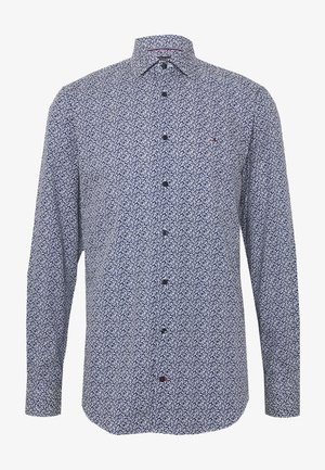 LEAVE PRINT CLASSIC SLIM SHIRT - Koszula - blue