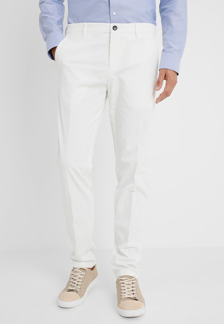 Tommy Hilfiger Tailored - Spodnie materiałowe - white