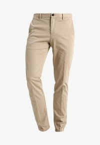 Tommy Hilfiger Tailored - STRETCH SLIM FIT PANTS - Chinos - beige - 4