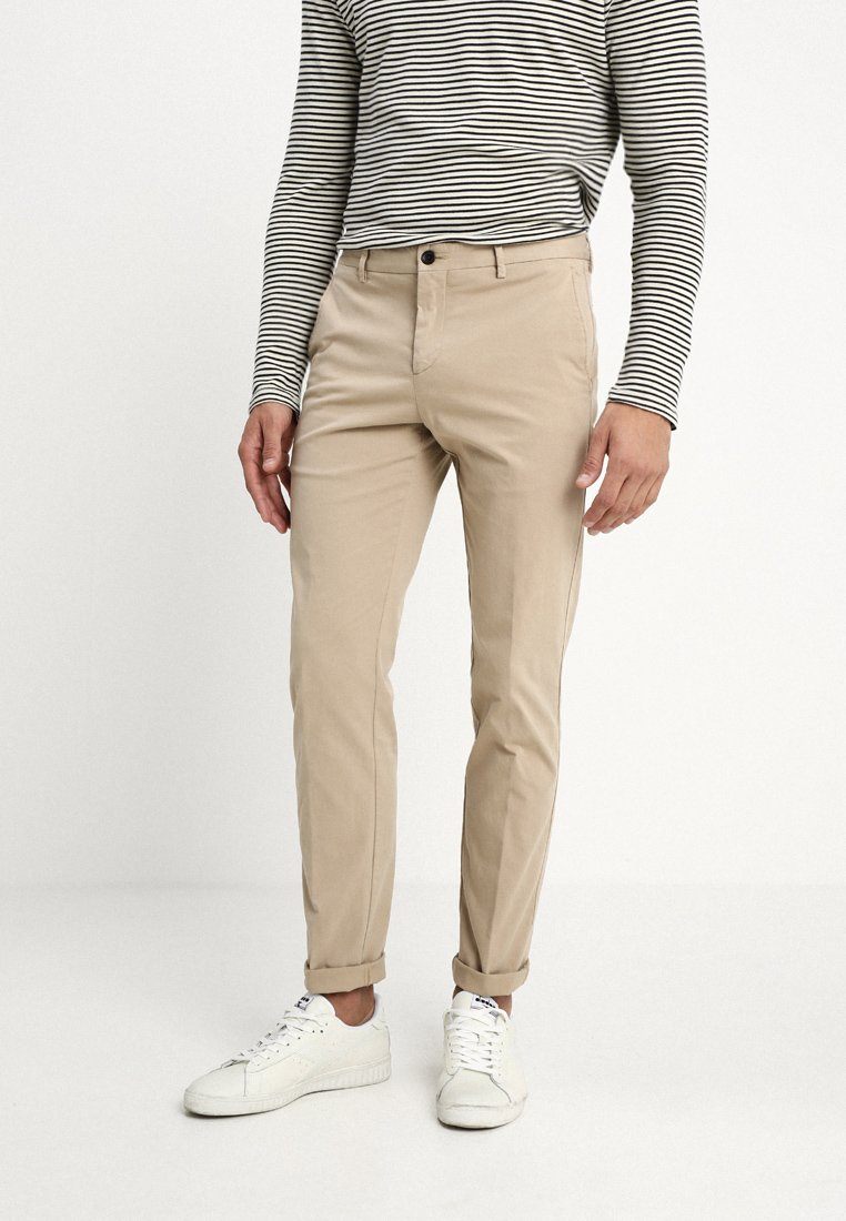 Tommy Hilfiger Tailored - STRETCH SLIM FIT PANTS - Chinos - beige
