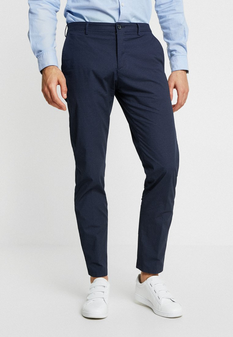 Tommy Hilfiger Tailored - SLIM FIT PANTS - Stoffhose - blue