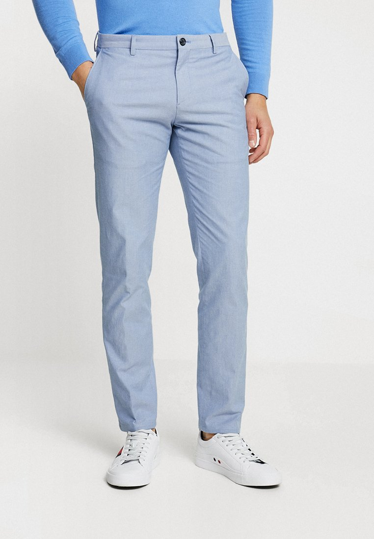 Tommy Hilfiger Tailored - DOUBLE FIT - Bukser - blue