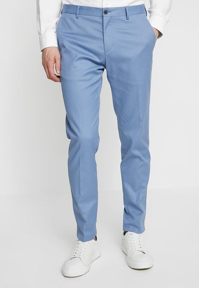 Tommy Hilfiger Tailored - STRETCH PANTS - Pantalon classique - blue