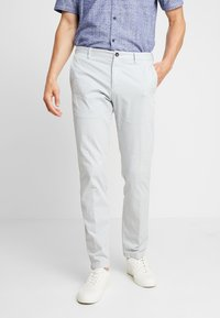 Tommy Hilfiger Tailored - PANTS - Chinosy - grey - 0