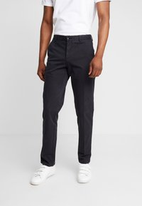 Tommy Hilfiger Tailored - PANTS - Chinos - black - 0