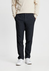 Tommy Hilfiger Tailored - EXTRA PANTS - Tygbyxor - blue - 0