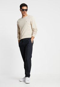 Tommy Hilfiger Tailored - EXTRA PANTS - Tygbyxor - blue - 1