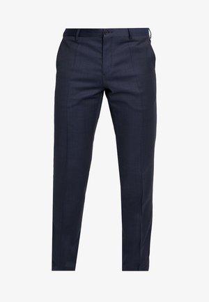 FLEX STRUCTURE PANTS - Spodnie materiałowe - blue