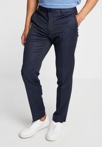 Tommy Hilfiger Tailored - FLEX STRUCTURE PANTS - Tygbyxor - blue - 0