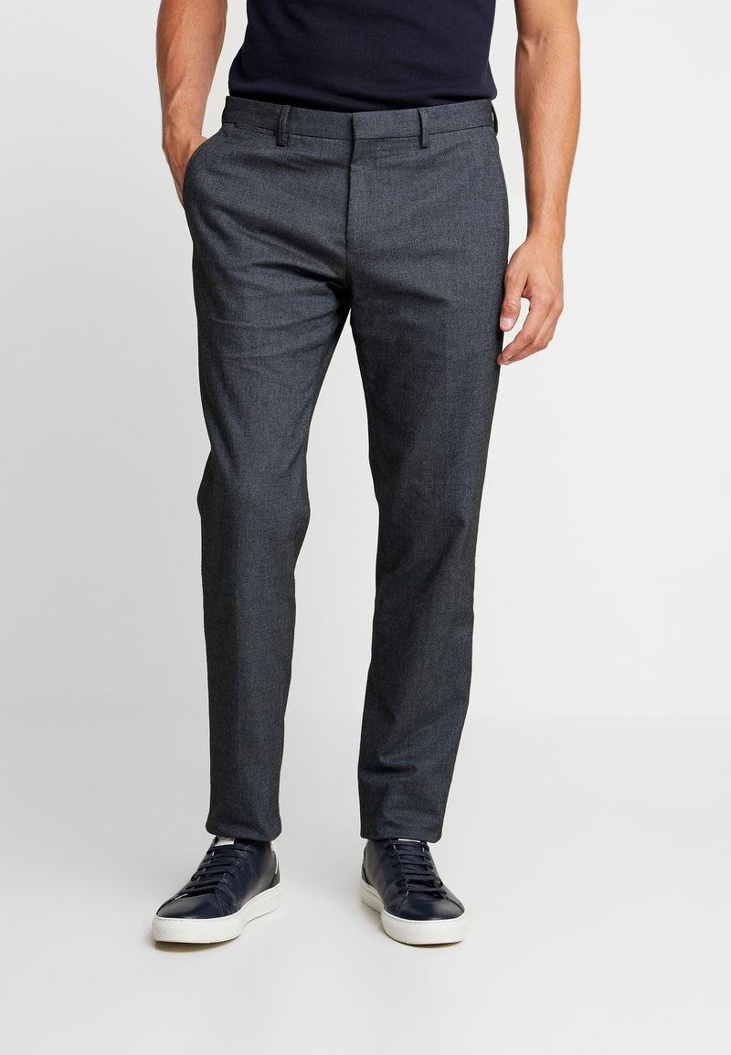 Tommy Hilfiger Tailored - BLEND PANTS - Trousers - dark blue