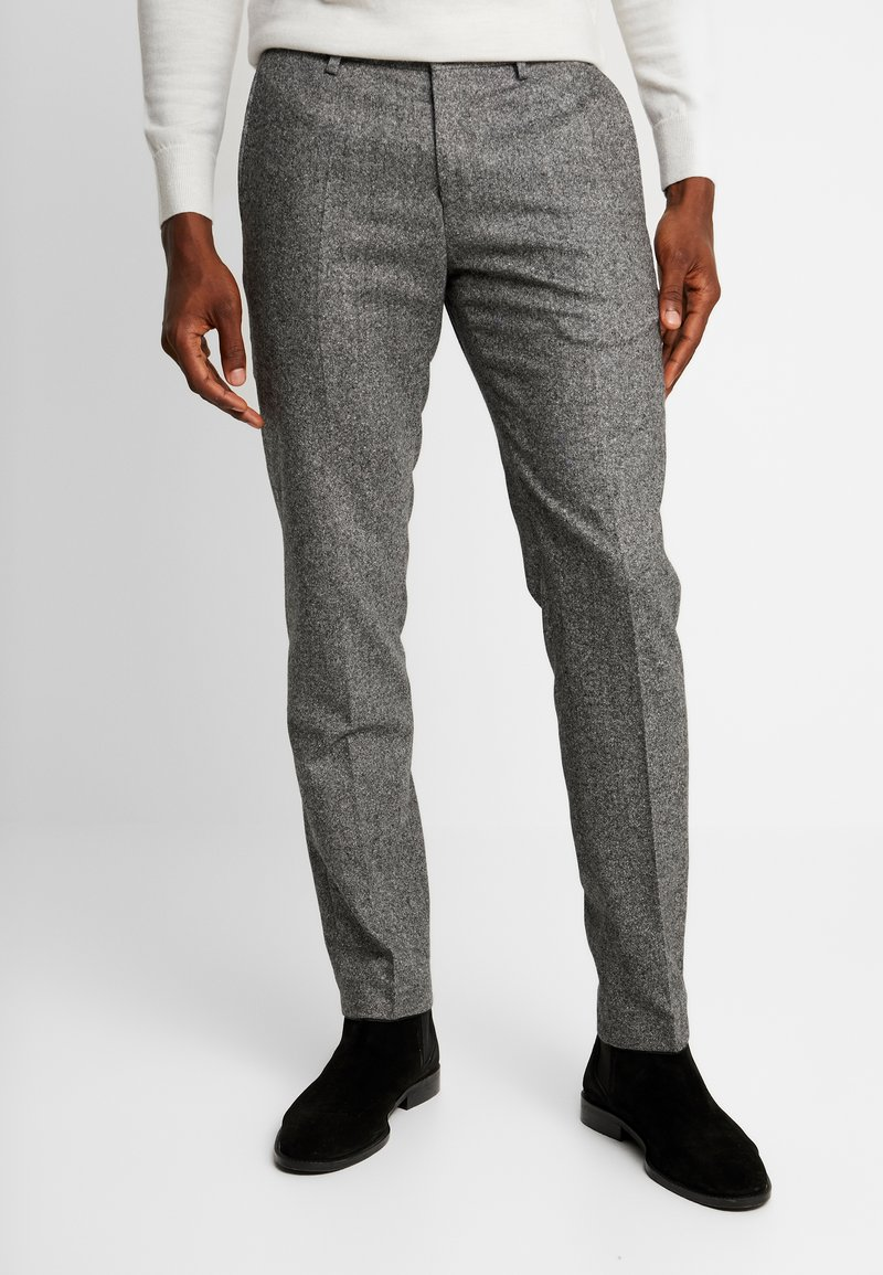 Tommy Hilfiger Tailored - BLEND PANTS - Broek - grey