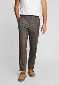 Tommy Hilfiger Tailored - Tygbyxor - brown - 0