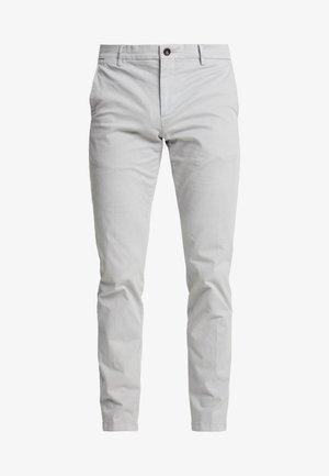 SLIM FIT FLEX PANT - Trousers - grey
