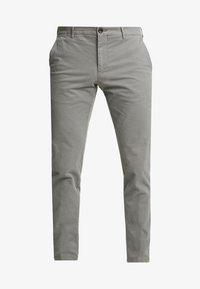 Tommy Hilfiger Tailored - SLIM FIT FLEX PANT - Tygbyxor - grey - 4
