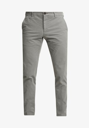 SLIM FIT FLEX PANT - Kangashousut - grey