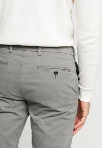 Tommy Hilfiger Tailored - SLIM FIT FLEX PANT - Tygbyxor - grey - 3