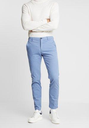 SLIM FIT FLEX PANT - Kalhoty - blue