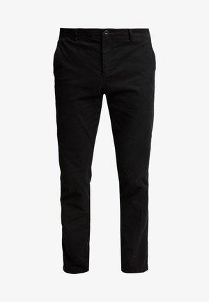 SLIM FIT FLEX PANT - Stoffhose - black