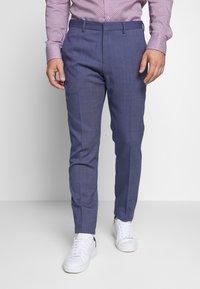 Tommy Hilfiger Tailored - SLIM FIT FLEX PANT  - Suit trousers - blue - 0