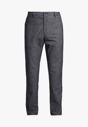 SLIM FIT DESIGN FLEX PANT - Tygbyxor - blue